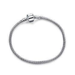 Schon sur la vente de la chaîne de serpent de métal en acier inoxydable bracelet avec de longues chaînes réglable pour les femmes Bracelet DIY la fabrication de bijoux
