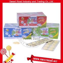 Os doces de leite seco Tablet Dry snacks 10PCS doces de leite