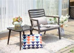 의자 탁자를 식사하는 옥외 알루미늄 옆 테이블 안뜰 가구