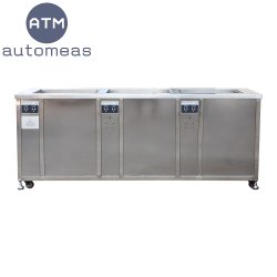Bon prix trois en une seule machine de nettoyage à ultrasons SUS industrielle 45L~360l La machine de nettoyage par ultrasons