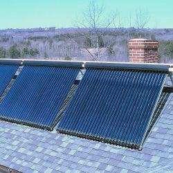 Apricus Keymark 태양 증명서를 가진 쪼개지는 태양 물 난방 장치 열파이프 태양열 수집기