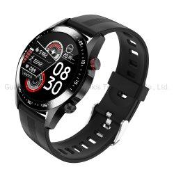 E12 Reloj inteligente de silicona resistente al agua IP68 de la correa de reloj de control de oxígeno en sangre de la salud Tracker Deporte Smartwatch Android Ios para teléfono móvil