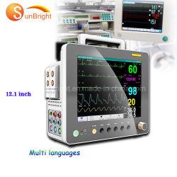 휴대용 Sunbright 12.1 인치 Multiparameter 참을성 있는 모니터