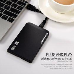 2021 도매 외장 휴대용 모바일 OEM SSD 하드 디스크 솔리드 주 드라이브 500GB 1TB 2TB SSD