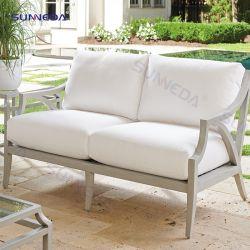 Material de alta calidad impermeable, UV antienvejecimiento muebles de exterior con Cojín blando