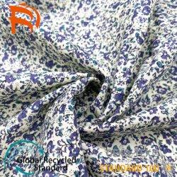 Carta satinata in poliestere seta intrecciata di alta qualità Tessuto per indumenti