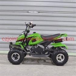 مركبة كهربائية تعمل بالدراجة البخارية تعمل بالبنزين النقي على الطرق الوعرة صغيرة تعمل بالعجلات الأربع 49cc Mini ATV