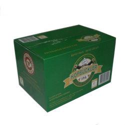 Cajón personalizados de lujo en caja de papel de regalo Caja de cartón ondulado para botellas de esmalte de uñas