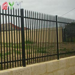 金属のヨーロッパの塀はW Dのタイプ鋼鉄柵の塀にパネルをはめる