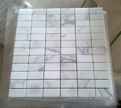 بيضاء رخاميّة فسيفساء لأنّ جدار قرميد, زخرفة بيتيّة, غرفة حمّام