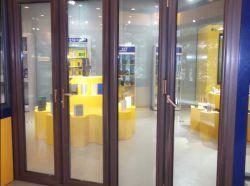 Alu-Holz Falz-Tür /Aluminium, das Tür Bi-Faltet