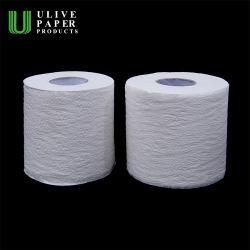 ورق دوشتي معاد تدويره Ulive، سعة 400 ورقة، 48 لفة/كيس، لفافة مرحاض مع كل فرد التفاف الورق