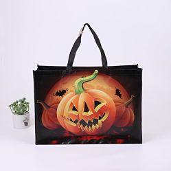 Bolsas de calabaza de Halloween Non-Woven Trick or Treat Tote Toy caramelos bolsas de regalo Bolsas con asa para fiestas