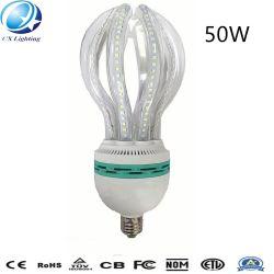 50W E27 5u Energieeinsparung-Glaslampe der Höhepunkt-freie milchige Lotos-Form-LED