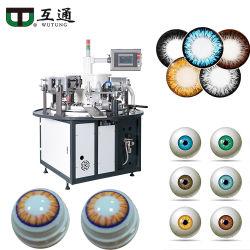 Wutung automatic1-8 de Printer van de Machine van de Druk van het Stootkussen van de Kleur voor het Schoonheidsmiddel Gekleurde Nauwkeurige Deel van de Grootte van Contactlenzen Kleine