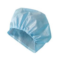 カールされた帽子クリップ帽子の毛ヘッドNon-Wovenのフォールドのよい看護婦と保護する外科WorkwearのタイプFDA FFP3の品質および抗菌性の塵のための使い捨て可能な帽子のネット