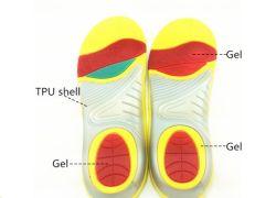 رغوة الذاكرة الجيدة الجودة البولي يورثان المتلدن بالحرارة (TPU) جيل Insole للمداسات الرياضية