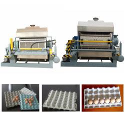 صينية آلية بالكامل لبيض الورق تعمل بلولبة اللب للفحم/الزيت/الغاز صنع الماكينة