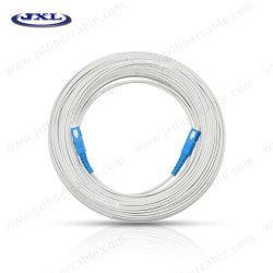 Cable de fibra óptica FTTH Modo Single G652D G657A1 conector tipo Sc-Sc Cable de conexión de fibra