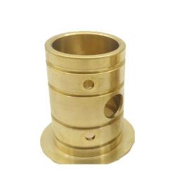 Boccola Bronze di rame d'ottone imbussolante d'ottone della flangia del metallo di Oilite della boccola di rame doppia per il macchinario di costruzione