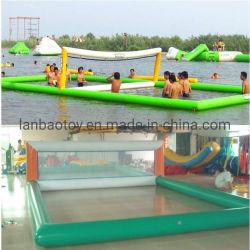 Im Freiensport-Spiel-Kind-Wasser-Spielplatz-Geräten-aufblasbarer Fußball-Fußball-Seifen-Bereich