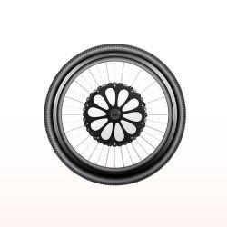 16-29 pulgadas Sistema Inteligente de la rueda de ayudante de Pedal Lvbu rueda E bicicleta kit de conversión del motor de bicicleta eléctrica, todo en uno Ebike Kit Rueda delantera