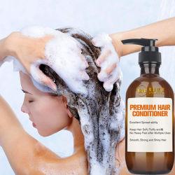 Торговые марки поврежденных сухих вьющихся черных волос гладкой мягкая шелковистая уход ремонт увлажняющий кондиционер