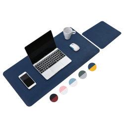 لوحة ماوس مصنوعة من الجلد PU مضادة للماء ومكتبية مكتب منزلي مضادة للماء حصيرة الطاولة