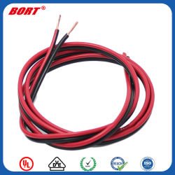 LEDの滑走路端燈のためのUL2468の赤くおよび黒く平らなリボンの照明ケーブル