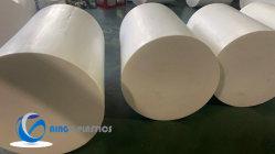 Teflon di plastica nero/bianco resistente a temperatura elevata Rod/PTFE Rod, barra di PTFE