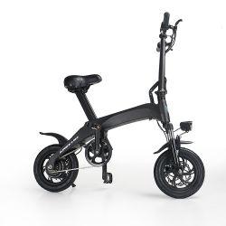 Almacén de EE.UU. de plegado de fibra de carbono del motor de 350W Bicicleta eléctrica China Mini Pocket Bike