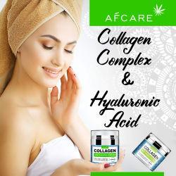 OEMのHyaluronic酸及びビタミンCが付いている反しわの心配のコラーゲンの表面クリームの反老化のクリーム