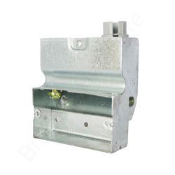 En el interior de acero galvanizado Caja dispositivo eléctrico de bajo perfil