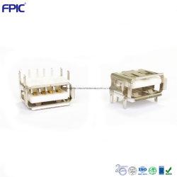 DIP PCB électroniques montés sur la prise USB du chargeur de af Shenzhen de composants électroniques de haute qualité Le port de transfert de données
