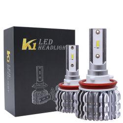 ペアK1 LED車のヘッドライトの穂軸のビーム球根LED H1/H4/H7/H11/9005/9006 26000lm 90Wの強いヘッドライトの自動車ランプ