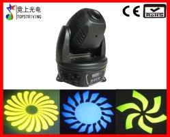 La luz de la etapa baratos foco LED 30W moviendo la cabeza