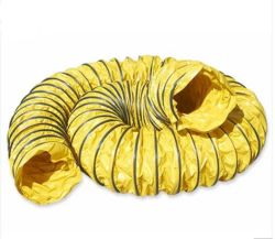 갱도 광산 환기를 위해 산업 주황색 색깔 광산 유연한 덕트