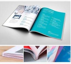직업적인 주문 책 중국에서 인쇄하는 브로셔를 인쇄하는 오프셋 인쇄 잡지 카탈로그