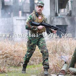 포켓을%s 가진 12의 색깔 위장 육군 군복 전술상 한 벌 특수 부대 전투 셔츠 군인 외투 바지 고정되는 바지