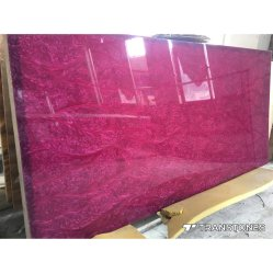 핑크 펄 인공 석재 인테리어 장식 석식을 위한 벽 패널링 테이블 & 천장 장식