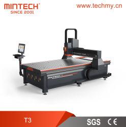 Машины с ЧПУ серии T Mintech в знак принятия решений/акрилового волокна древесины/медь и алюминий/пластика и ПВХ
