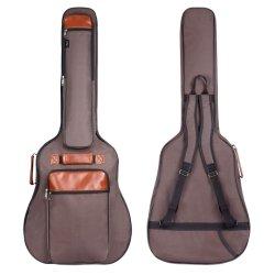 Saco de guitarra 40 41 42 Polegadas Guitar caso à prova de pano de Oxford Esponja Extra grossa Saco de guitarra almofadado