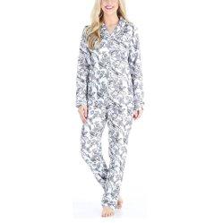 Fournisseur de vêtements 100% coton Pyjama manches longues femmes Floral Nighties