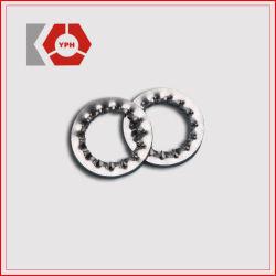 Les dents des rondelles de blocage DIN6797 d'acier inoxydable
