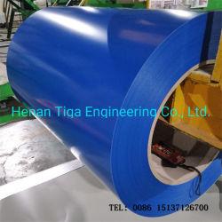 Пленка из ПВХ с полимерным покрытием PPGI PPGL стальной лист железа/Prepainted катушки оцинкованной стали