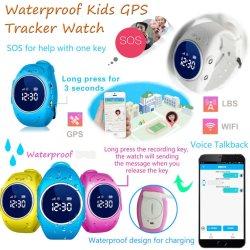 제거 경보 D11를 가진 아기 안전 GPS 추적자 시계 전화