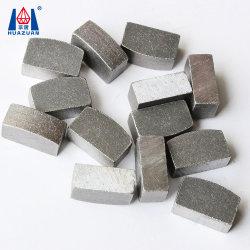 Segmenti del diamante dell'arenaria sinterizzati taglio ad alta velocità di Huazuan 1200mm