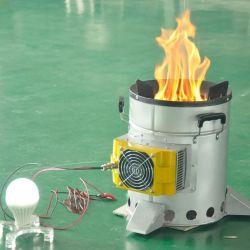 Le bois/la combustion du charbon Barbecue/bouilloire chauffe-eau 5L réchaud de camping de la Cuisine de plein air de pique-nique Thé tente d'une cuisinière