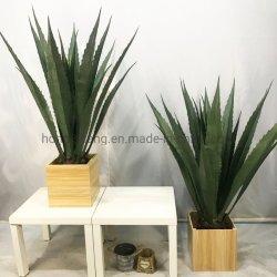 Estilo nórdico Corona Artificial Planta artificial orquídeas maceta con decoración manualidades