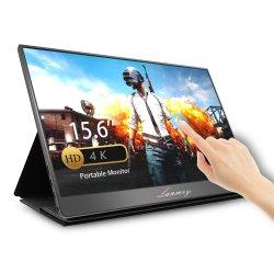 Lanmey 15,6 дюймов 4K портативный монитор с сенсорным экраном